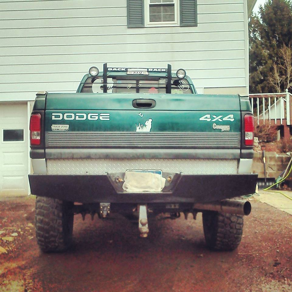 N on 04 Dodge Ram Bumper
