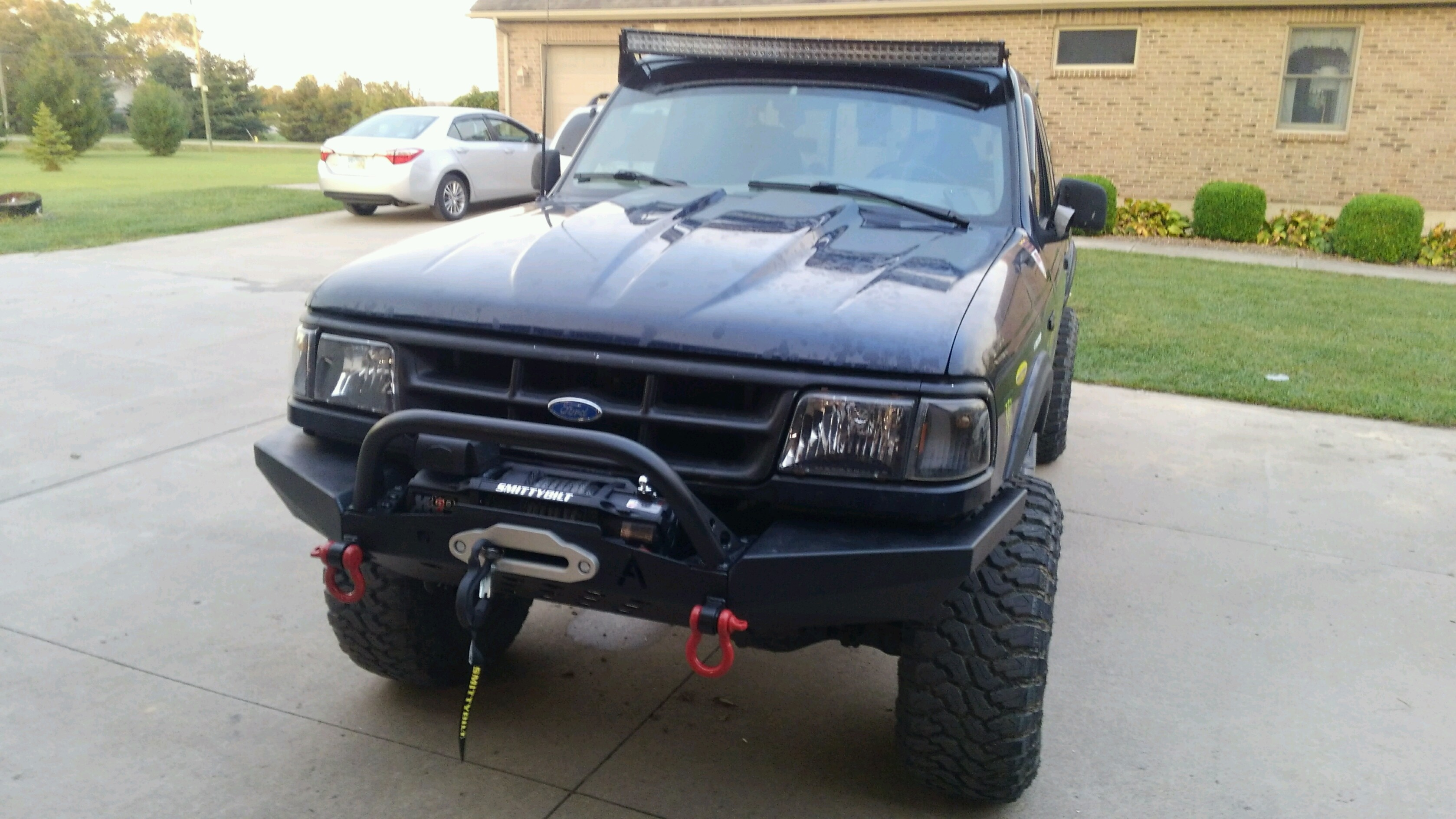 Jeep Grand Cherokee Off Road Bumper >> Elite Ford Ranger Modular Plain Front Winch Bumper 1993-1997 - Affordable Offroad