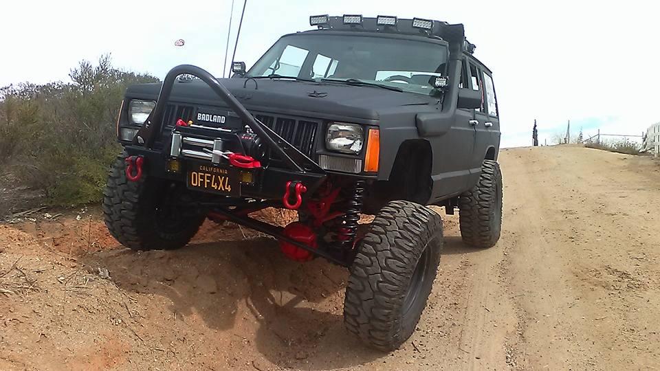 Topnotch Elite Shorty Winch Stinger Front Bumper-Jeep Cherokee XJ/Comanche JO17