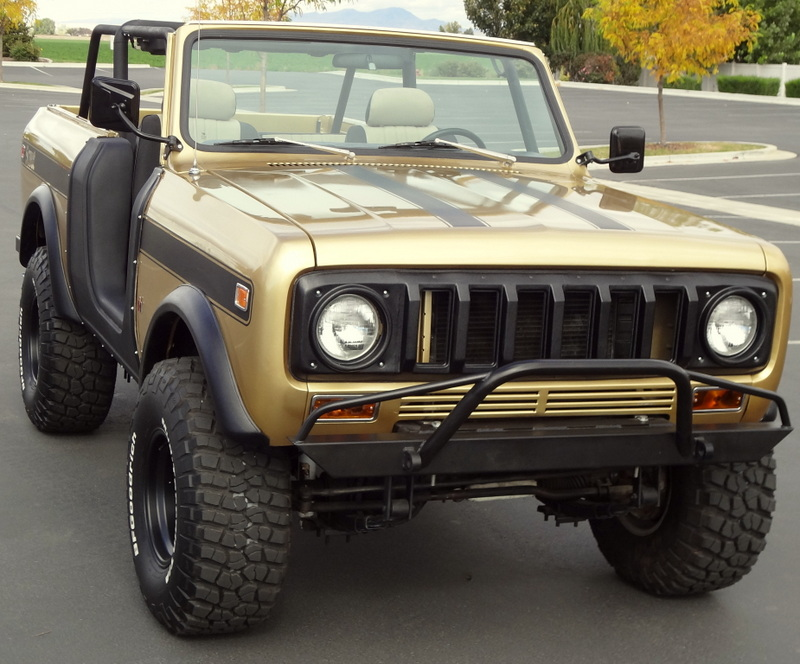 Affordable Prerunner Front Bumper International Scout 80