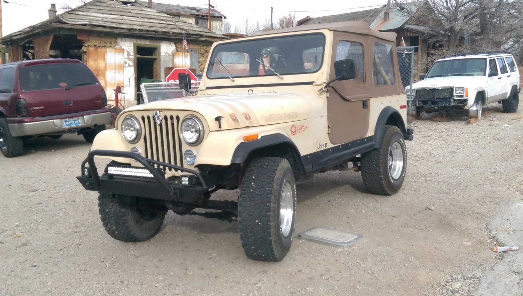 Affordable Prerunner Front Bumper -Jeep CJ/YJ/TJ/LJ ('54-'06) - Affordable  Offroad