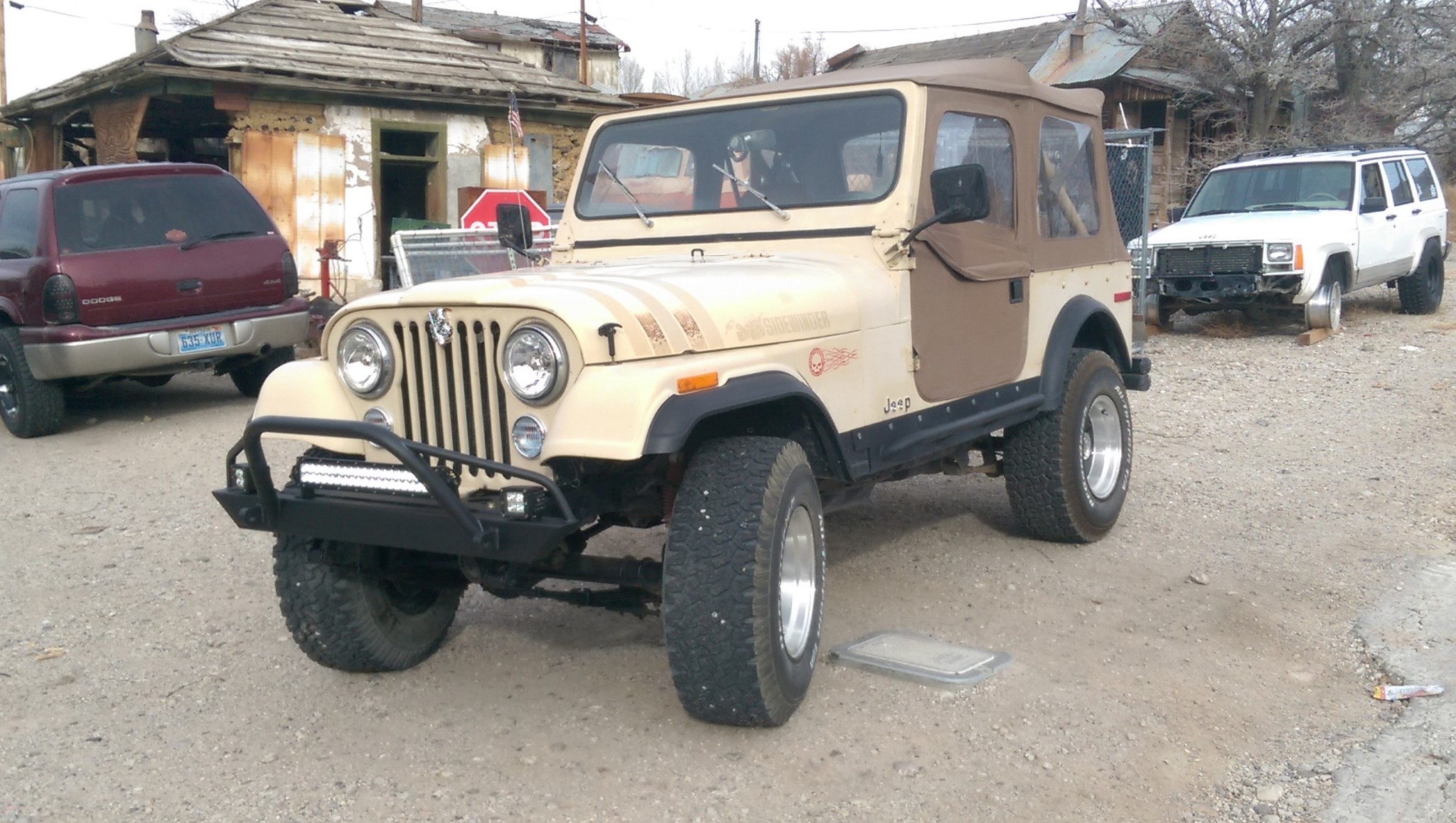 Jeep Cj Front Bumper Wiring Library Affordable Prerunner Yj Tj Lj 54