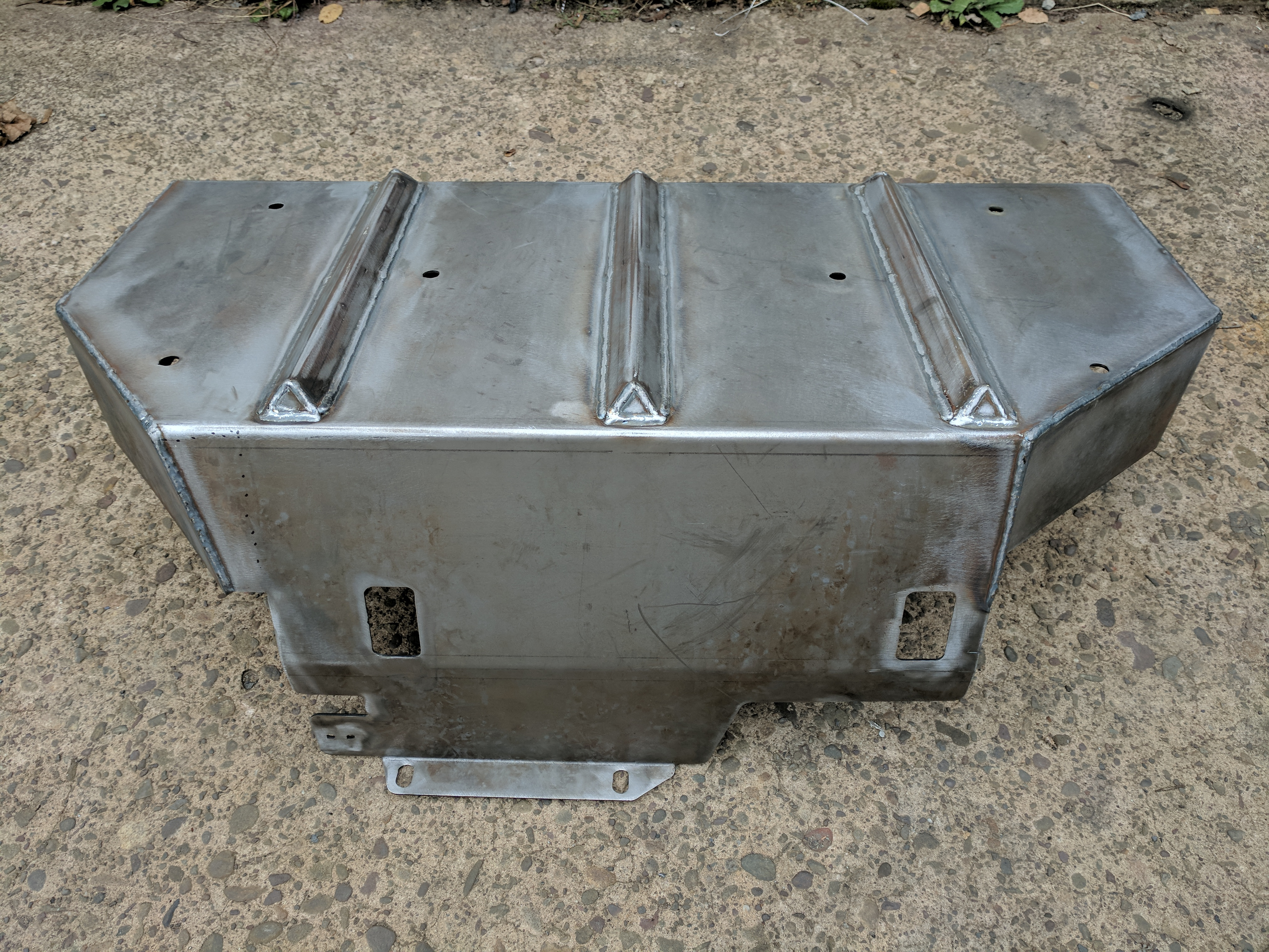 Elite Gas Tank Skid Plate