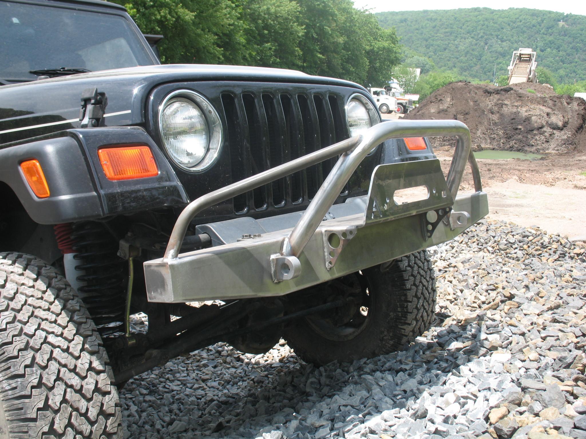 Jeep Cj Front Bumper Wiring Library Elite Prerunner Winch Yj Tj Lj