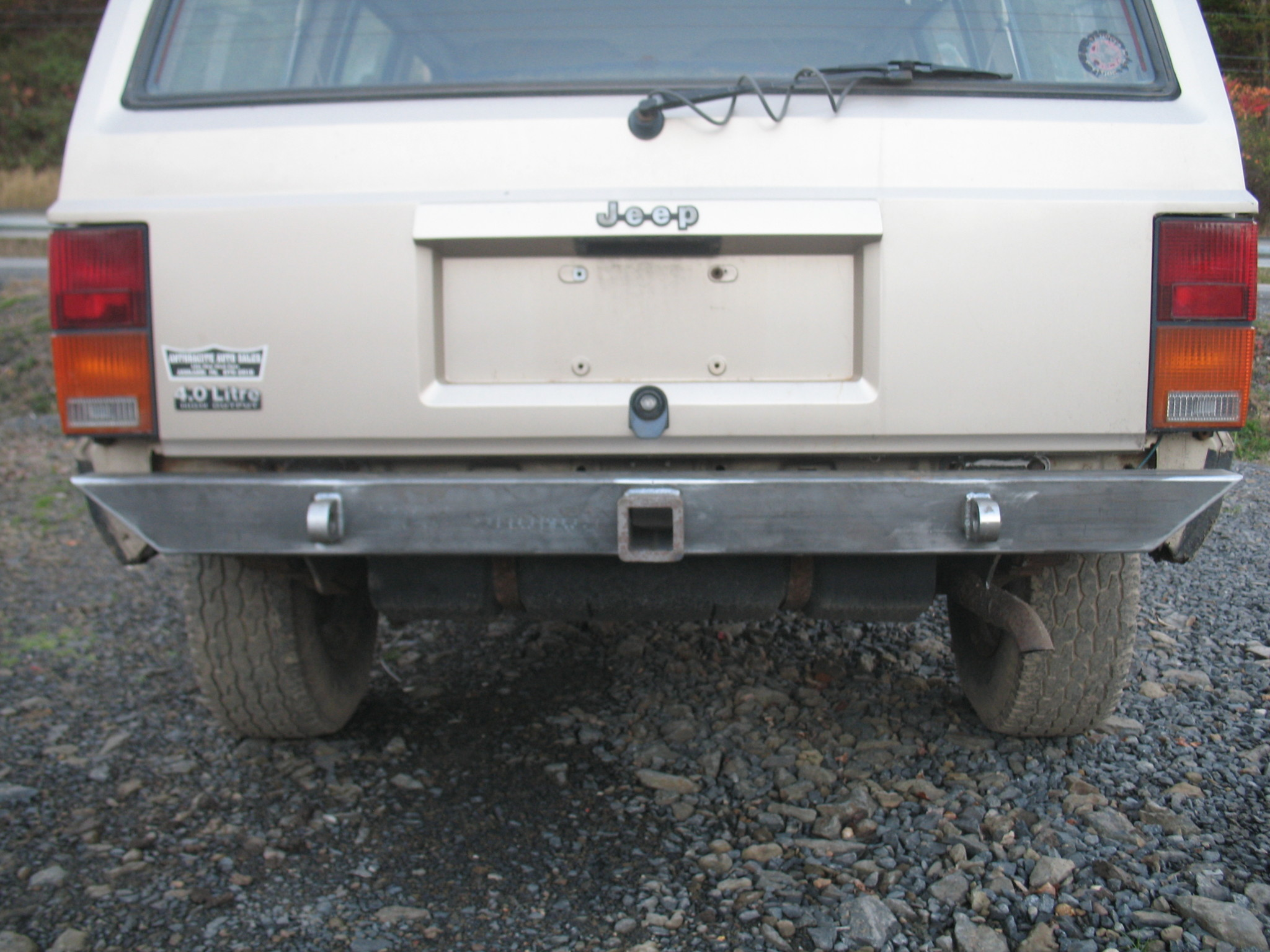 Jeep Grand Cherokee Off Road Bumper >> Affordable Rear Bumper-Jeep Cherokee XJ (84-01) - Affordable Offroad