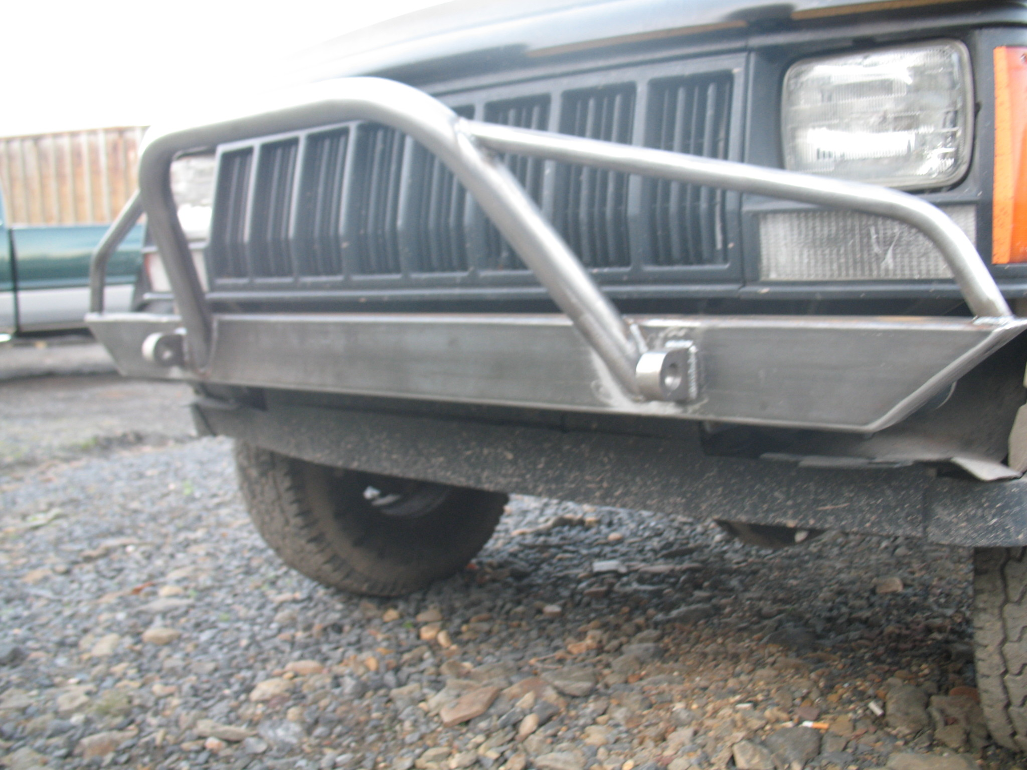 Affordable Front And Rear Bumper Set Jeep Cherokee Xj 84 01