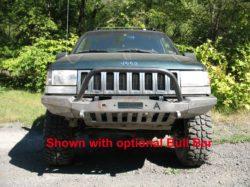 Jeep Grand Cherokee Off Road Bumper >> Elite Jeep Grand Cherokee Zj Modular Plain Front Winch Bumper 93