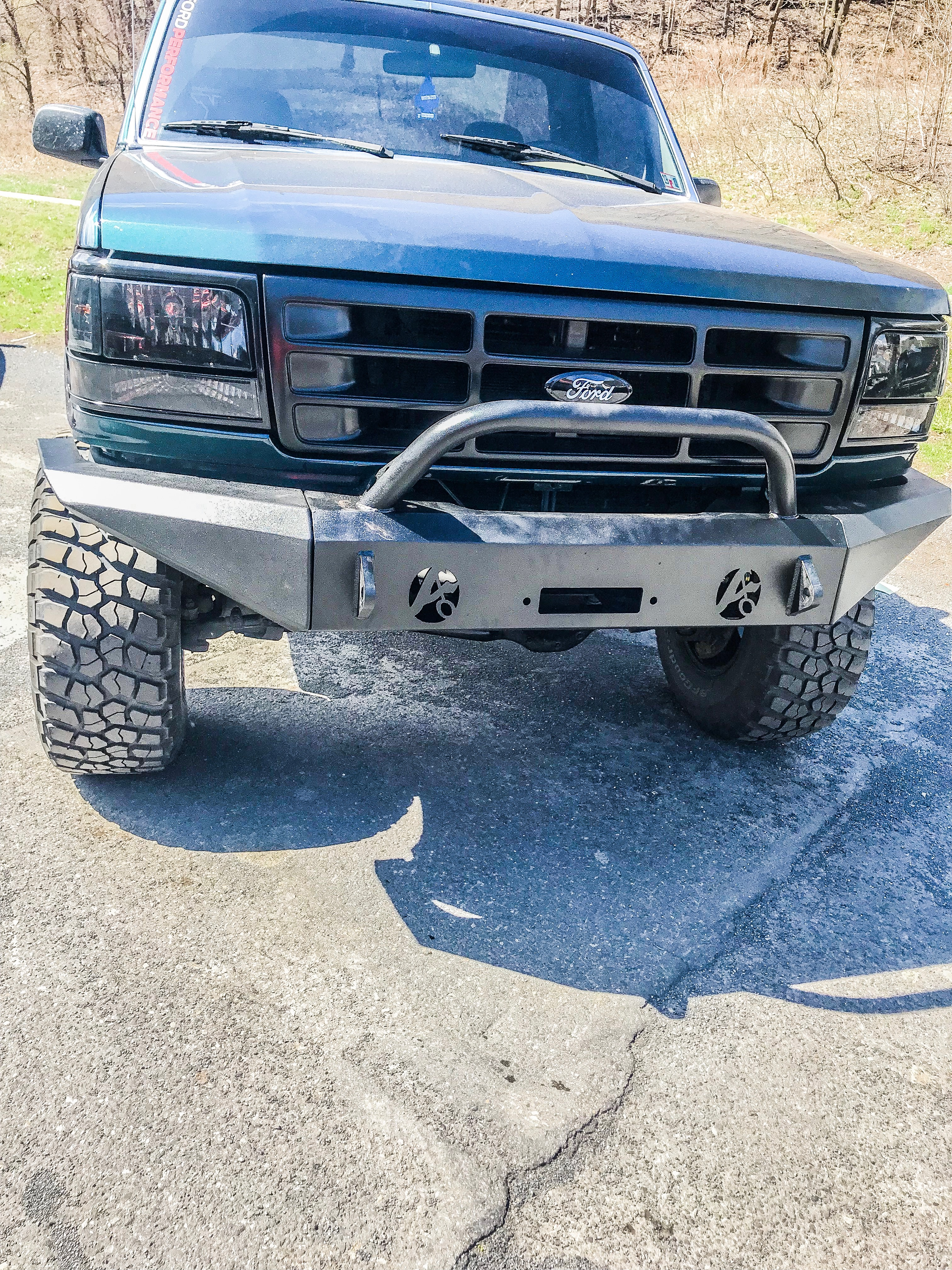 Full Size Ford Truck And Bronco Modular Front Bumper Affordable Offroad