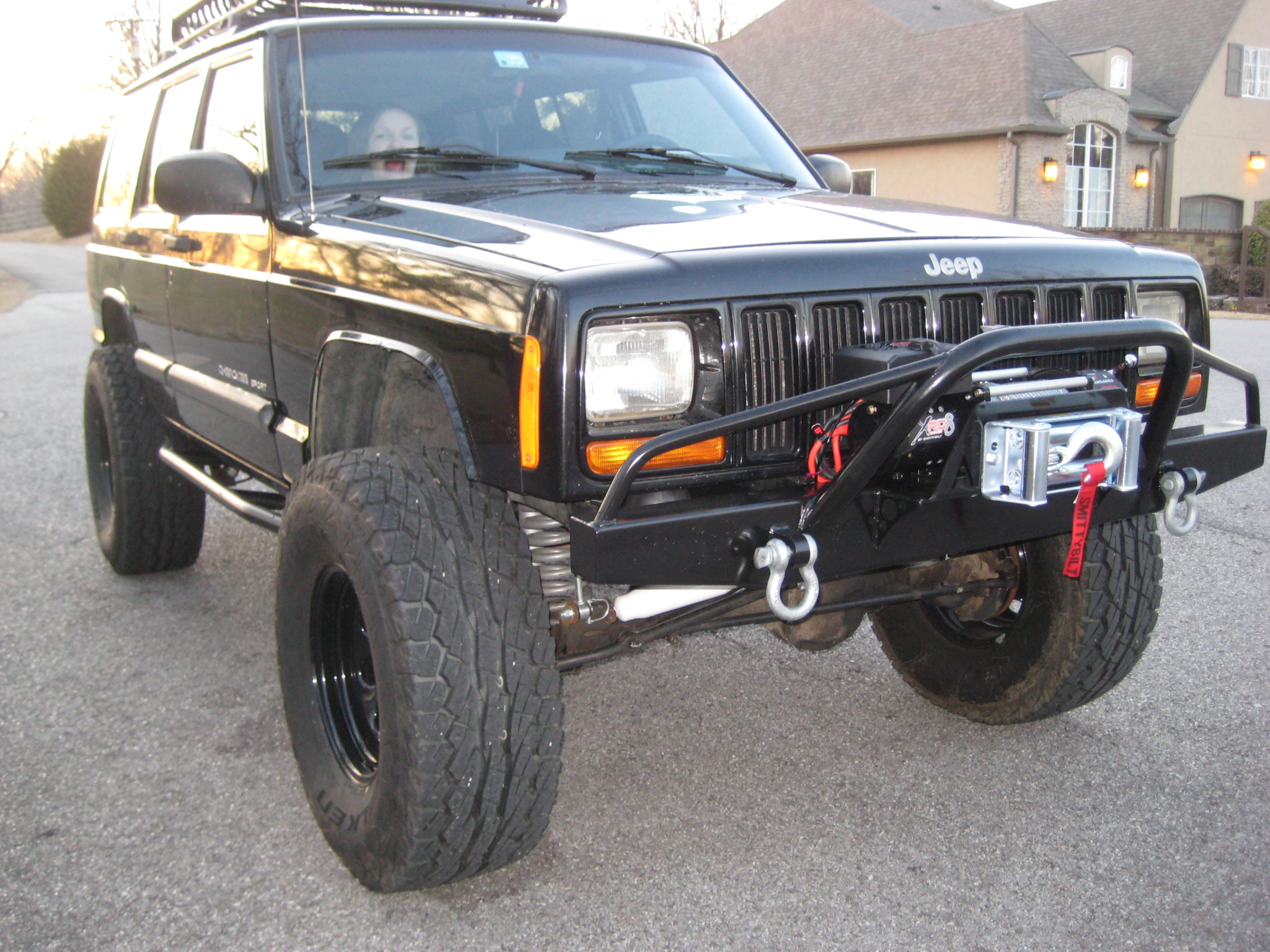 Jeep Cherokee Xj Bumpers >> Elite Prerunner Winch Front And Rear Bumper Set Jeep Cherokee Xj