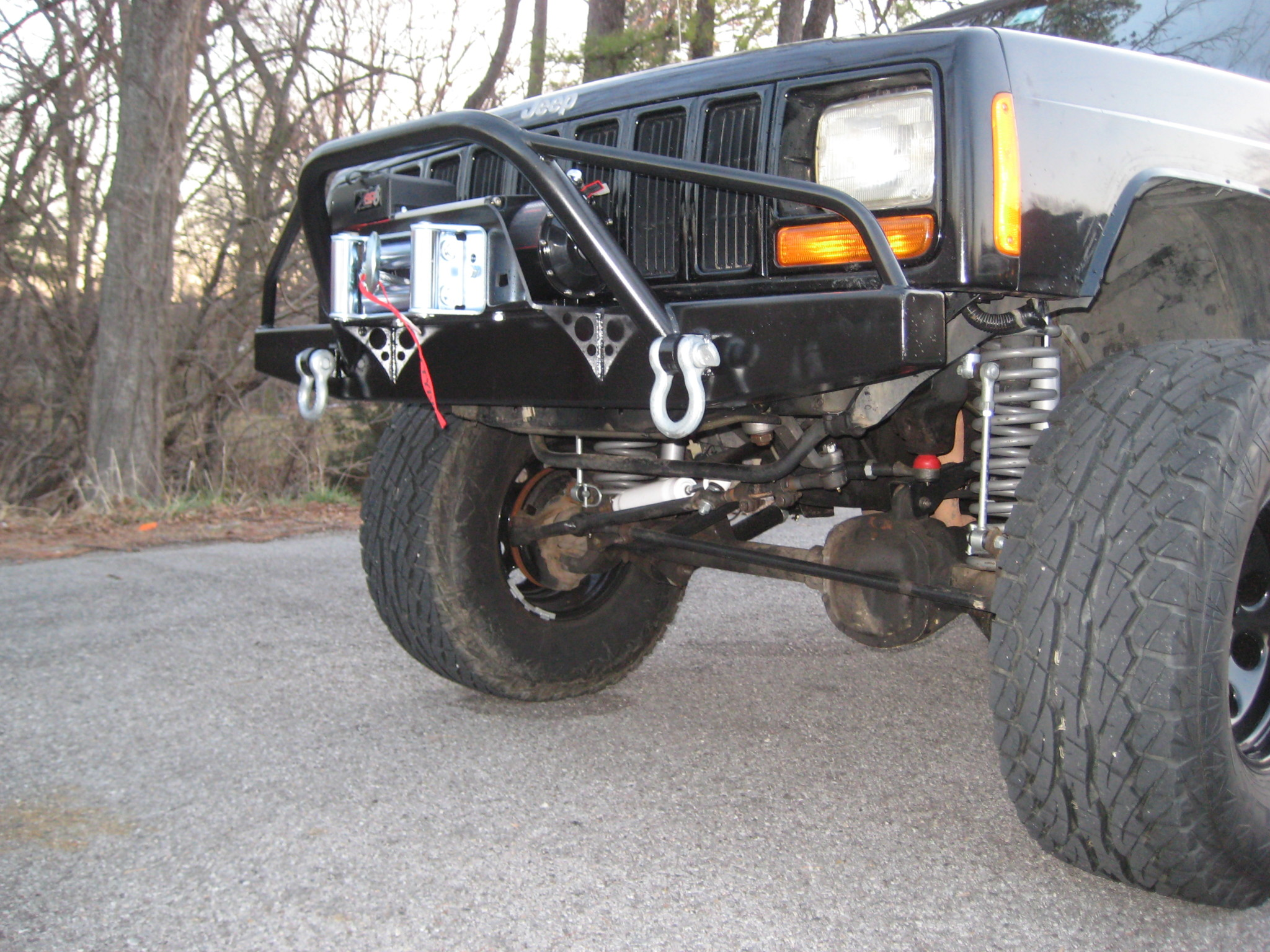 Elite PreRunner Winch Front and Rear Bumper Set-Jeep Cherokee XJ (84-01)