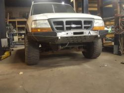 Ford ranger custom bumper