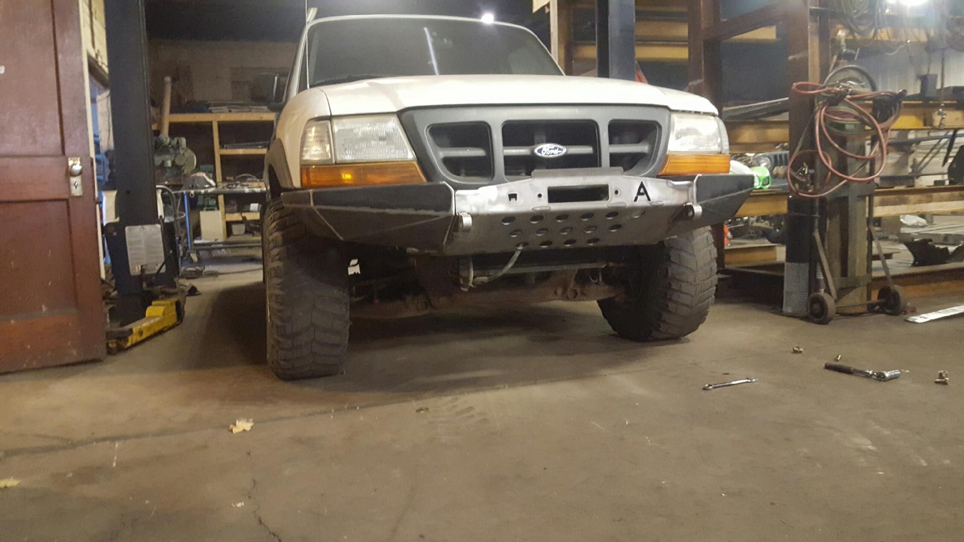 1999 ford ranger aftermarket bumper