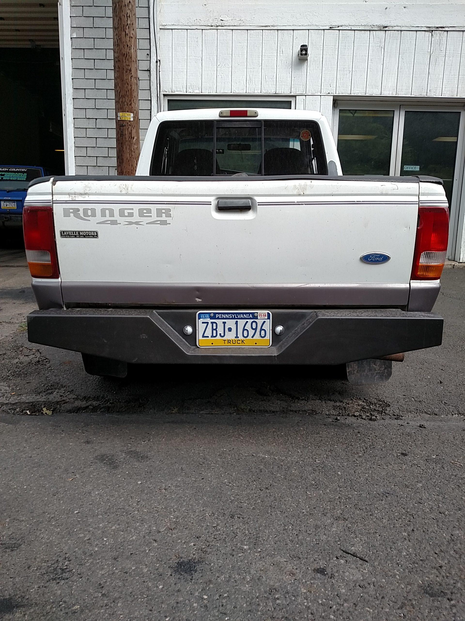 New Rear Bumper For Ford Ranger 1993-2011