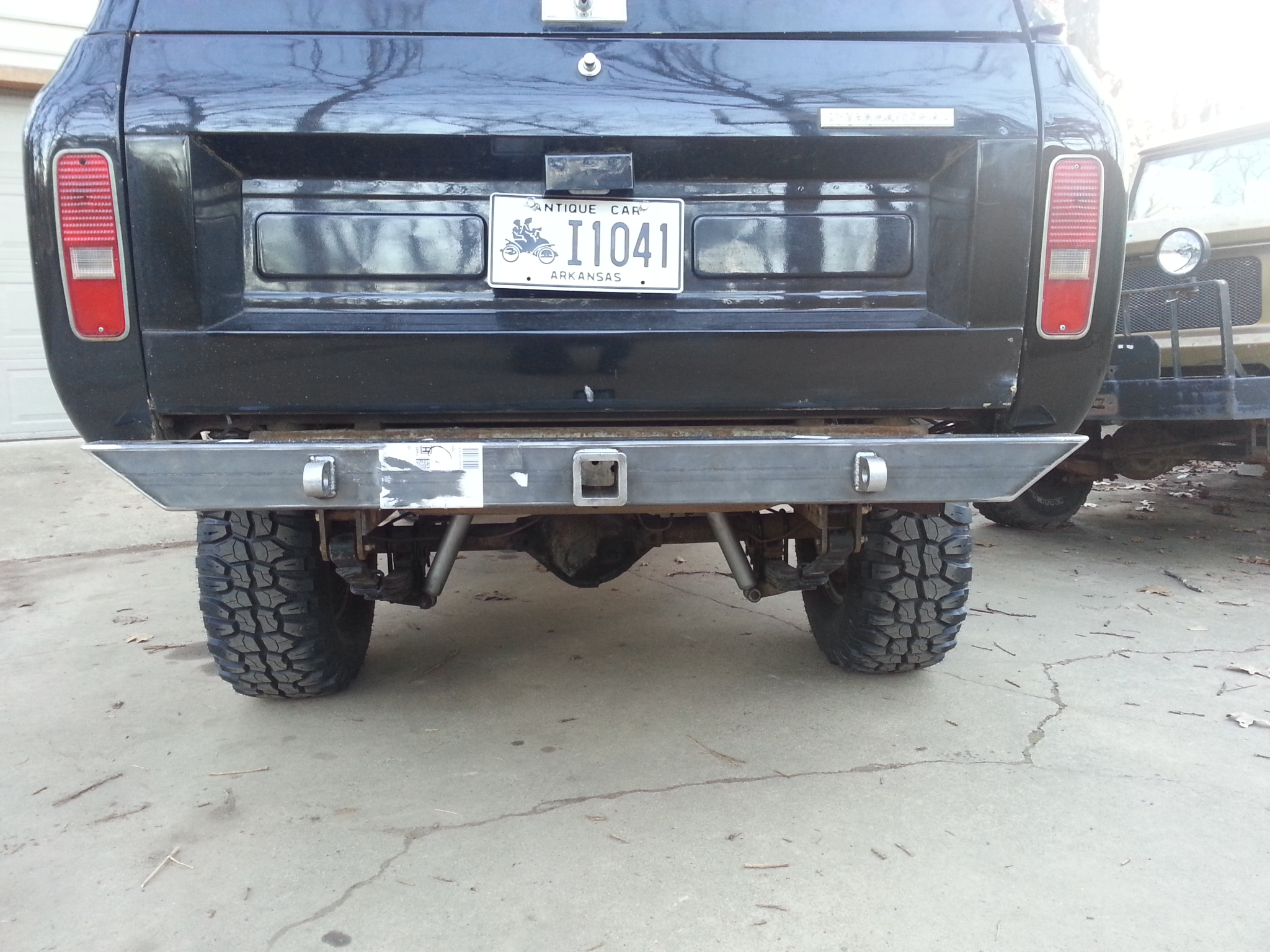 Affordable Rear Bumper International Scout 80 800 Amp Scout